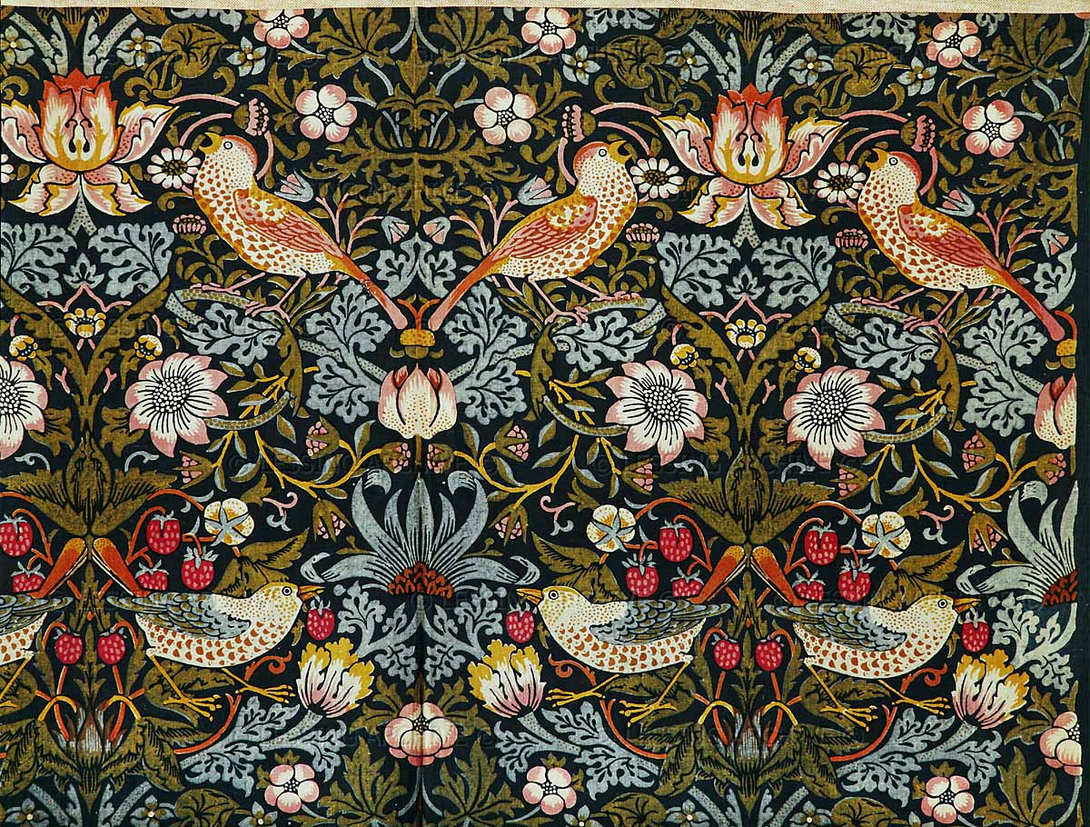 William morris seamsandstitches for Arts and crafts style prints