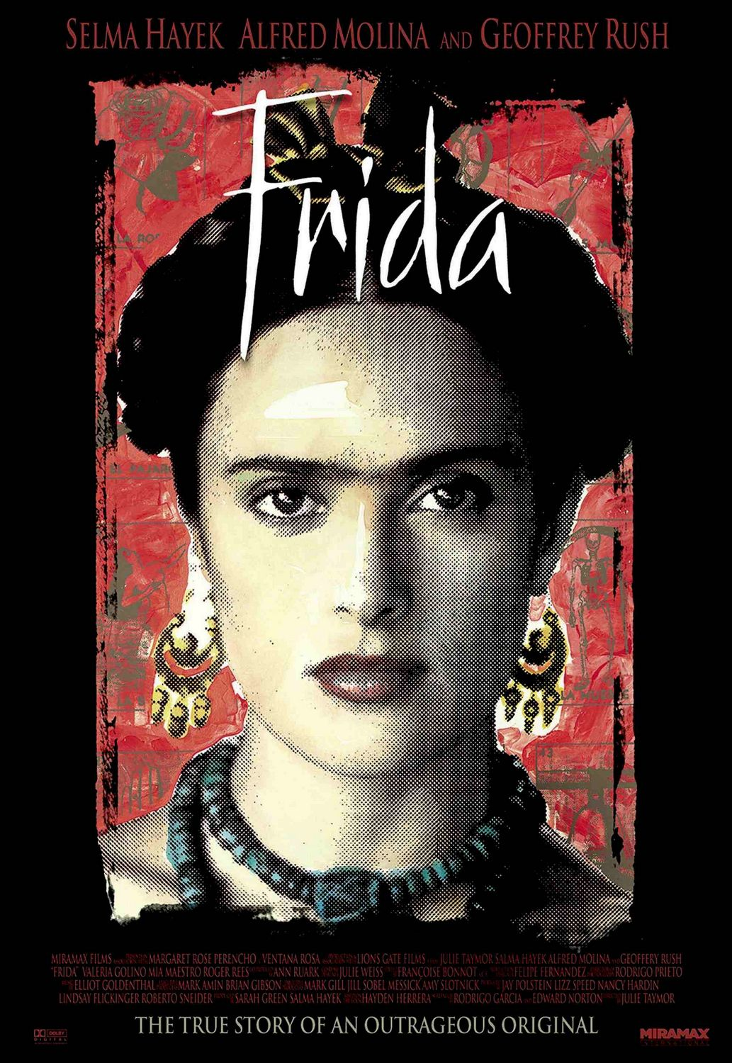 frida movie Like frida kahlo's artwork, the movie is visually stunning yet abhorrent to contemplate frida kahlo's life was tragic in many ways, yet she defied odds to become a .