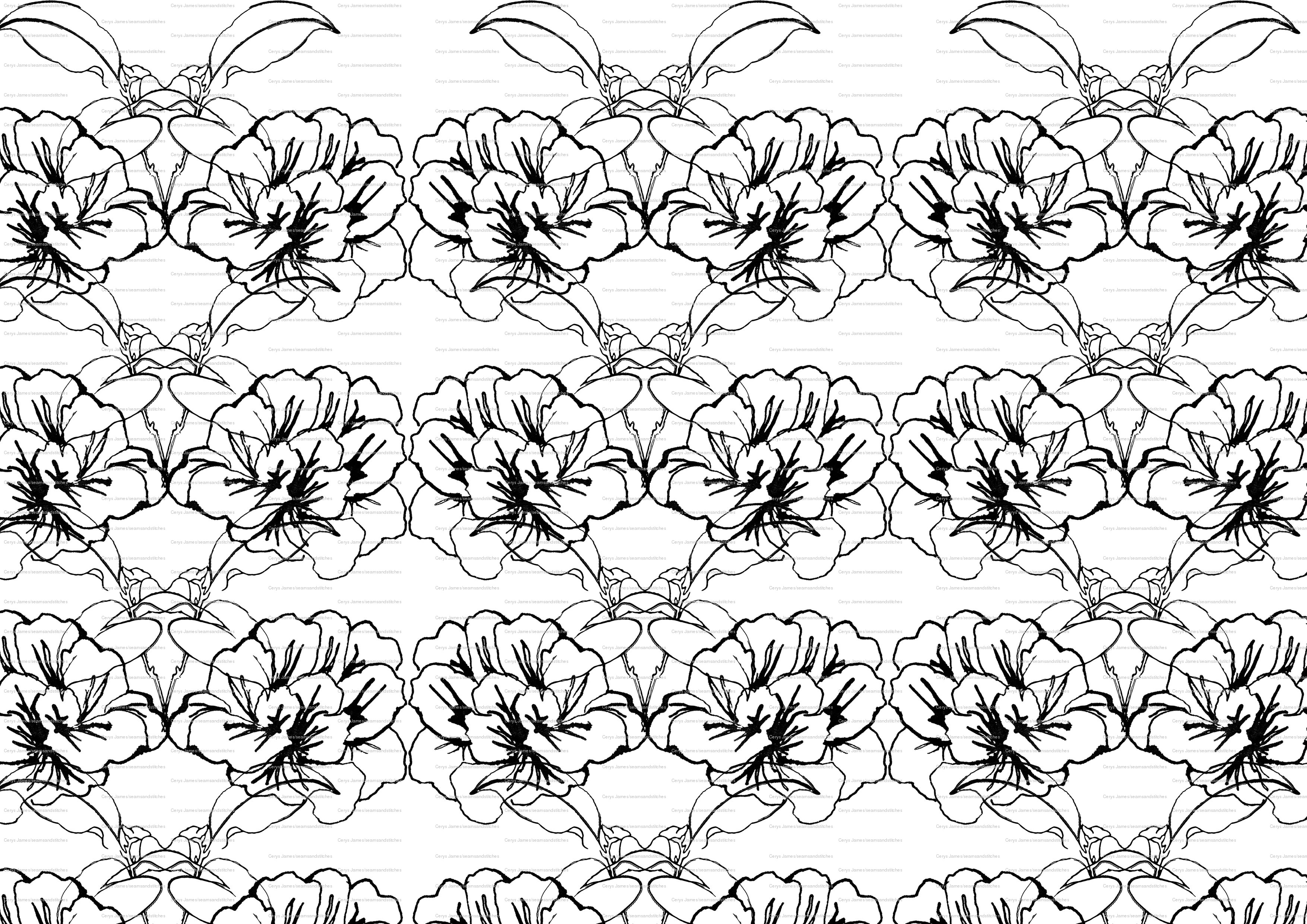 William Morris Colouring Pages