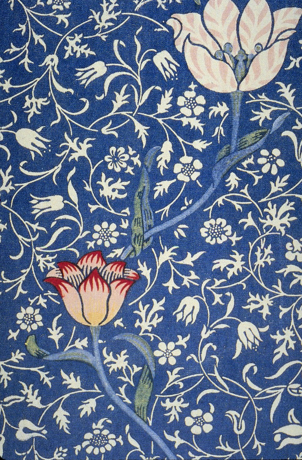 William morris seamsandstitches for Architecture textile